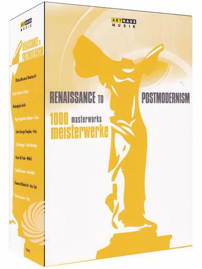 1000 masterworks - Renaissance to Postmodernism - DVD - thumb - MediaWorld.it