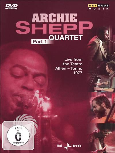 Archie Shepp Quartet - Part 1 - Live from the Teatro Alfieri - Torino 1977 - DVD - thumb - MediaWorld.it