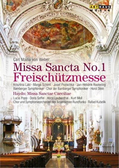 WEBER - MISSA SANCTA N.1 'FREISCHUTZMESSE' - DVD - thumb - MediaWorld.it