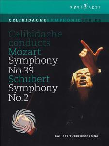Celibidache conducts Mozart (Symphony No.39) & Schubert (Symphony No.2) - DVD - thumb - MediaWorld.it