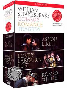 William Shakespeare - Comedy - Romance - Tragedy - DVD - thumb - MediaWorld.it