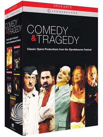 Comedy and tragedy - Classic opera productions from the Glyndebourne Festival - DVD - thumb - MediaWorld.it