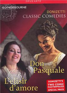 Gaetano Donizetti - Classic comedies: Don Pasquale + L'elisir d'amore - DVD - thumb - MediaWorld.it