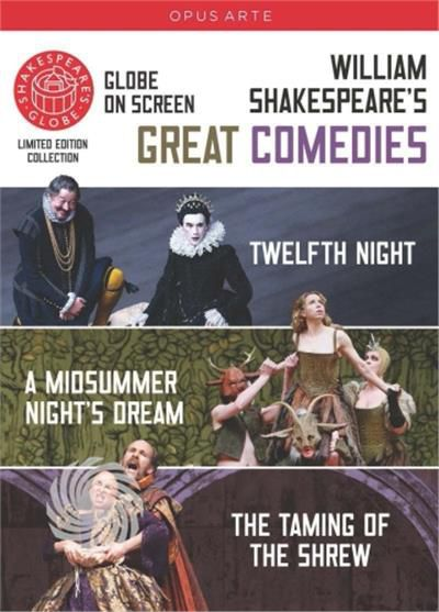 WILLIAM SHAKESPEARE - GREAT COMEDIAE: THE TAMING OF THE SHREW, TWELFTH NIGHT - DVD - thumb - MediaWorld.it