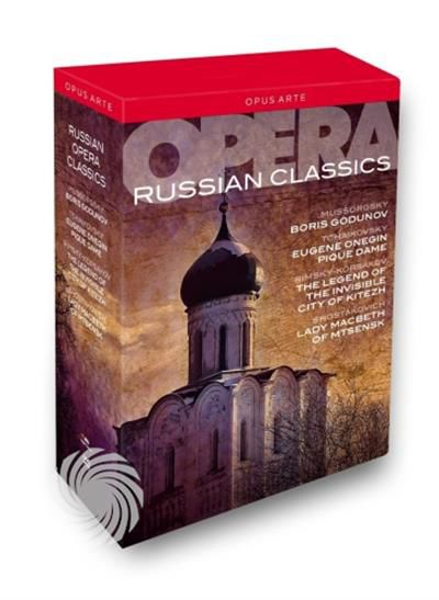 RUSSIAN OPERA CLASSICS - DVD - thumb - MediaWorld.it