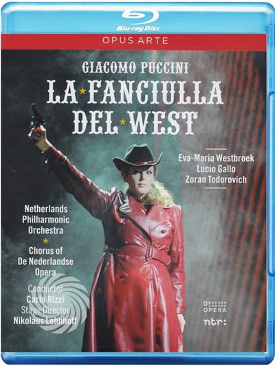 Giacomo Puccini - La fanciulla del West - Blu-Ray - thumb - MediaWorld.it