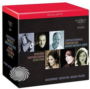Hahn / Obradors / Massenet / Turina / Faure - Rosenblatt Recitals 1 - CD - thumb - MediaWorld.it