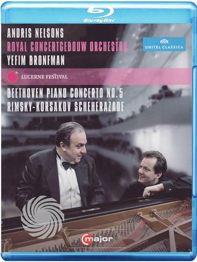 Andris Nelson - Yefim Bronfman - Live at Lucerne Festival - Blu-Ray - thumb - MediaWorld.it