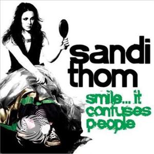 THOM, SANDI - SMILE..IT CONFUSES PEOPLE - CD - thumb - MediaWorld.it