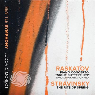 Raskatov / Stravinsky - Pno Con Night Butterflies-Stravinsky: Rite Of - CD - thumb - MediaWorld.it