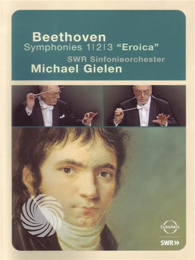 Ludwig van Beethoven - Symphonies nos 1-2-3 'Eroica' - Michael Gielen / SWR Sinfonieorchester - DVD - thumb - MediaWorld.it