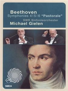 Ludwig van Beethoven - Symphonies nos 4-5-6 'Pastorale' - Michael Gielen / SWR Sinfonieorchester - DVD - thumb - MediaWorld.it