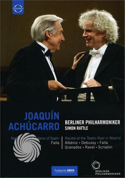 JOAQUIN ACHUCARRO - RECITAL AT THE TEATRO REAL DE MADRID - DVD - thumb - MediaWorld.it