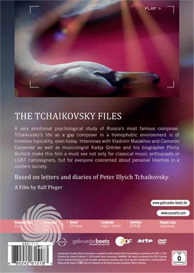 TCHAIKOVSKY - THE TCHAIKOVSKY FILES-CONFESSIONS OF - DVD - thumb - MediaWorld.it