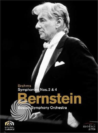 Brahms - Symphonies n.2 & 4 - DVD - thumb - MediaWorld.it