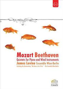BEETHOVEN/MOZART - QUINTETS FOR PIANO AND WIND INSTRUMENTS - DVD - thumb - MediaWorld.it