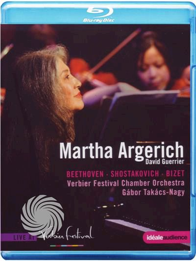 Martha Argerich, David Guerrier, Verbier Festival Chamber Orchestra, Gabor Takacs-Nagy - Martha Argerich - Beethoven -... - thumb - MediaWorld.it
