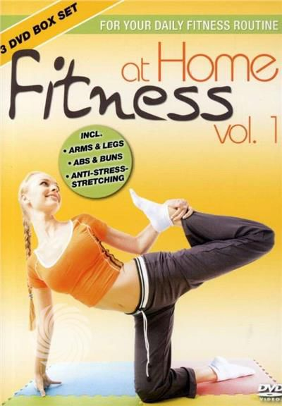 Fitness At Home 1 (3pc)-Fitness At - DVD - thumb - MediaWorld.it