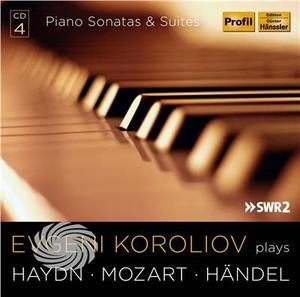 Haydn / Koroliov,Evgeni - Evgeni Koroliov Plays Haydn Mozart & Handel - CD - thumb - MediaWorld.it