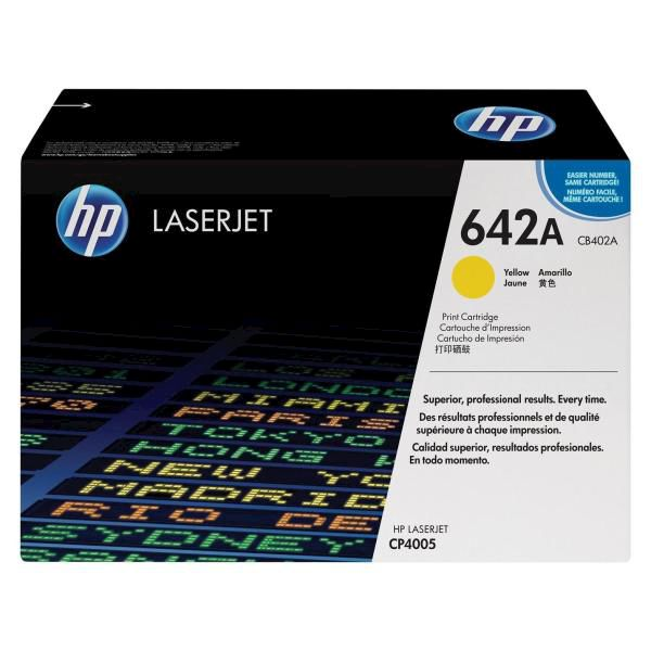 HP Toner 642A Giallo - thumb - MediaWorld.it