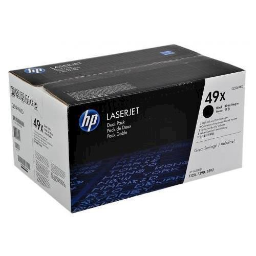 HP Toner 49X Nero 2 pezzi - thumb - MediaWorld.it