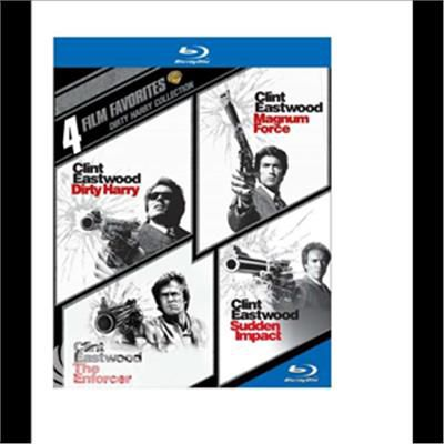 Blu- 4 Film Favorites: Dirty Harry (4pc) - Blu-Ray - thumb - MediaWorld.it
