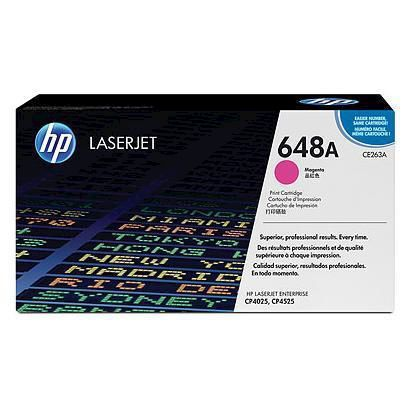 HP Toner 648A Magenta - thumb - MediaWorld.it