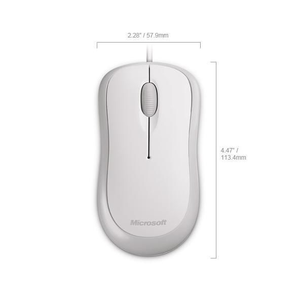MICROSOFT BASIC OPTICAL MOUSE - thumb - MediaWorld.it