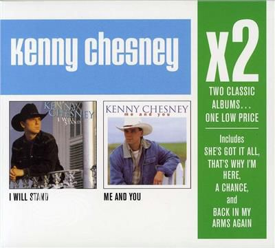 Chesney,Kenny - X2 (I Will Stand/Me & You) - CD - thumb - MediaWorld.it