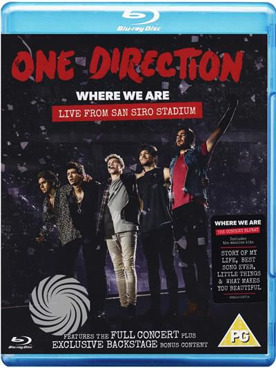 One Direction - Where we are - Live from San Siro Stadium - Blu-Ray - thumb - MediaWorld.it