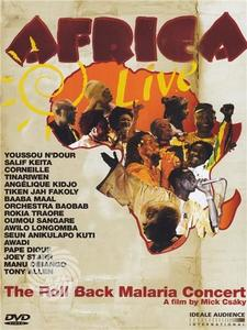 Africa live - The roll back malaria concert - DVD - thumb - MediaWorld.it