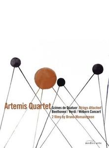 ARTEMIS QUARTET - SCENES DE QUATUOR - STRINGS ATTACHED - DVD - thumb - MediaWorld.it