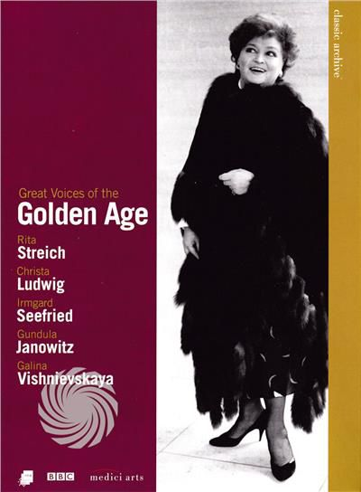 GREAT VOICES OF THE GOLDEN AGE - CLASSIC ARCHIVE - DVD - thumb - MediaWorld.it