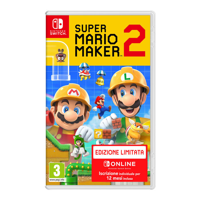 Super Mario Maker 2 Limited Edition - NSW - thumb - MediaWorld.it