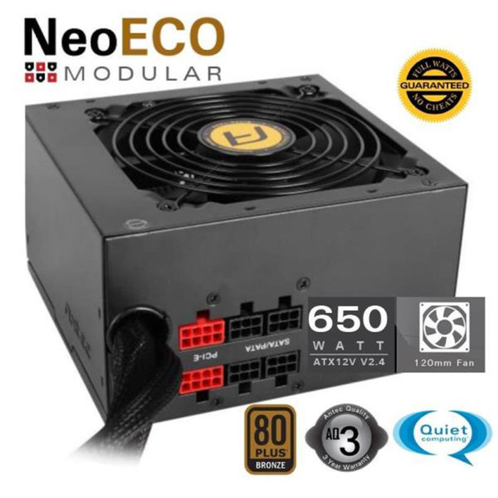 ANTEC NE650M EC SEMI MODULAR - thumb - MediaWorld.it