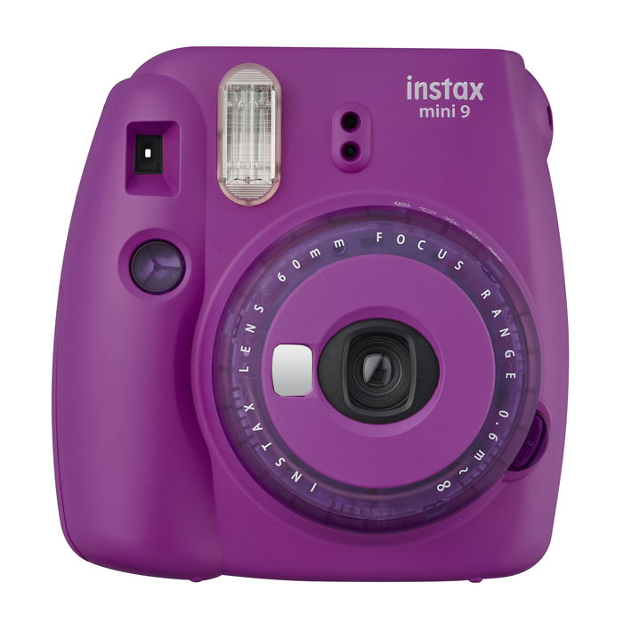 FUJIFILM INSTAX MINI 9 CLEAR PURPLE VIOLA - thumb - MediaWorld.it