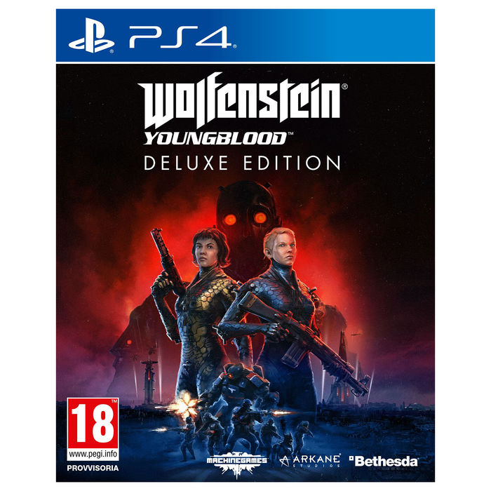 Wolfenstein Youngblood Deluxe Edition - PS4 - thumb - MediaWorld.it