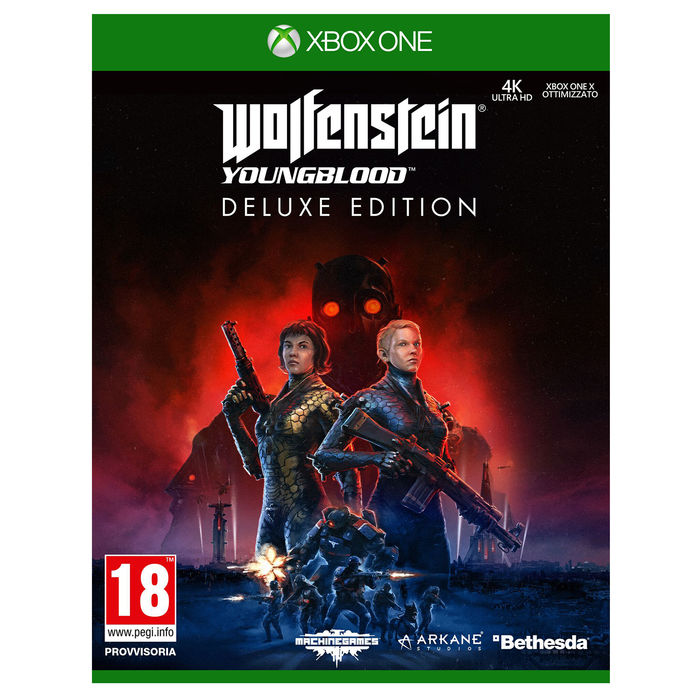 Wolfenstein Youngblood Deluxe Edition - XBOX ONE - thumb - MediaWorld.it