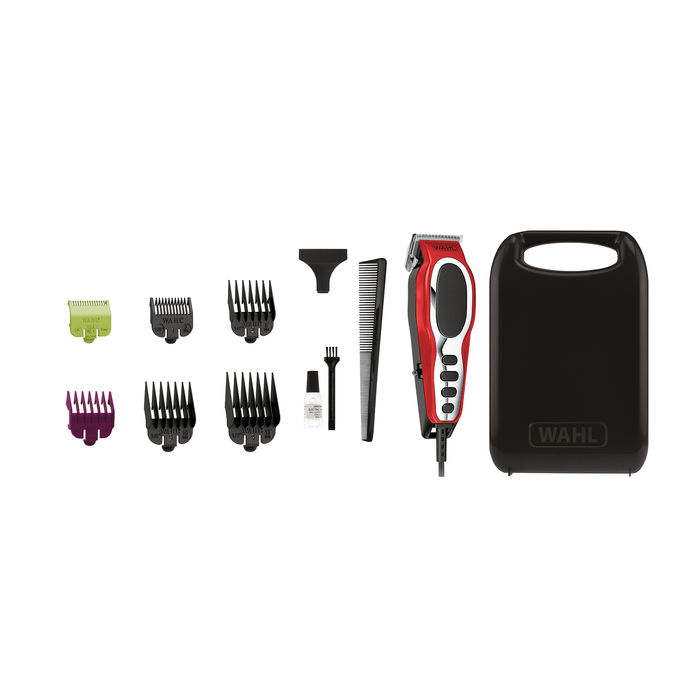 WAHL CLOSE CUT PRO RED CLIPPER IN HANDLE CASE - thumb - MediaWorld.it