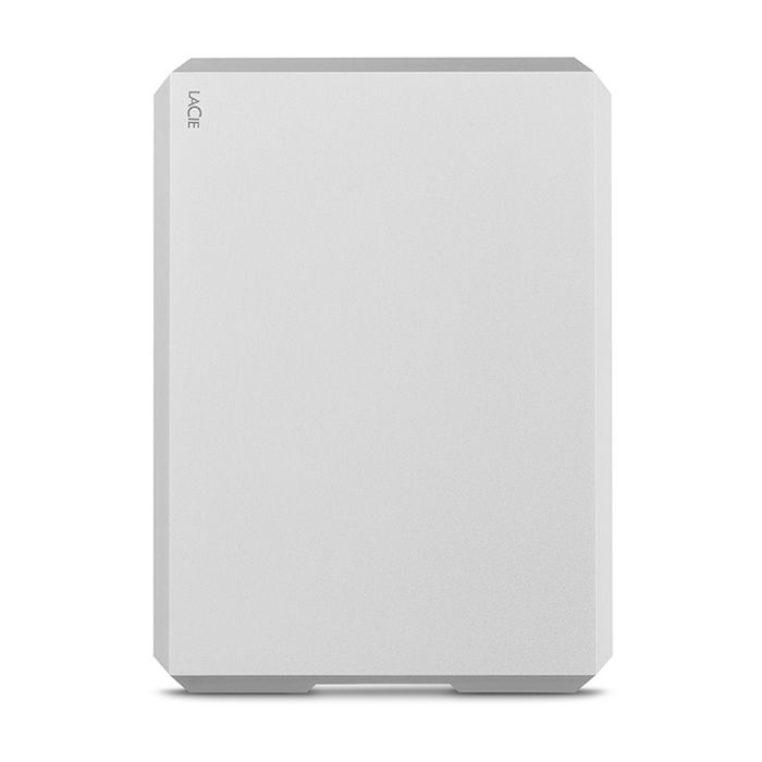 LACIE 4TB MOBILE DRIVE USB-C MOON SILVER - thumb - MediaWorld.it