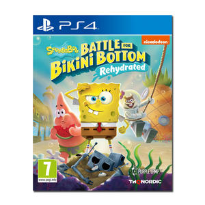 Spongebob SquarePants: Battle for Bikini Bottom - Rehydrated - PS4 - MediaWorld.it