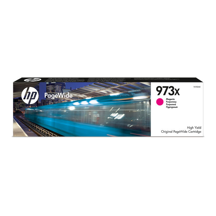 HP 973X Magenta cartuccia d'inchiostro originale F6T82AE - thumb - MediaWorld.it