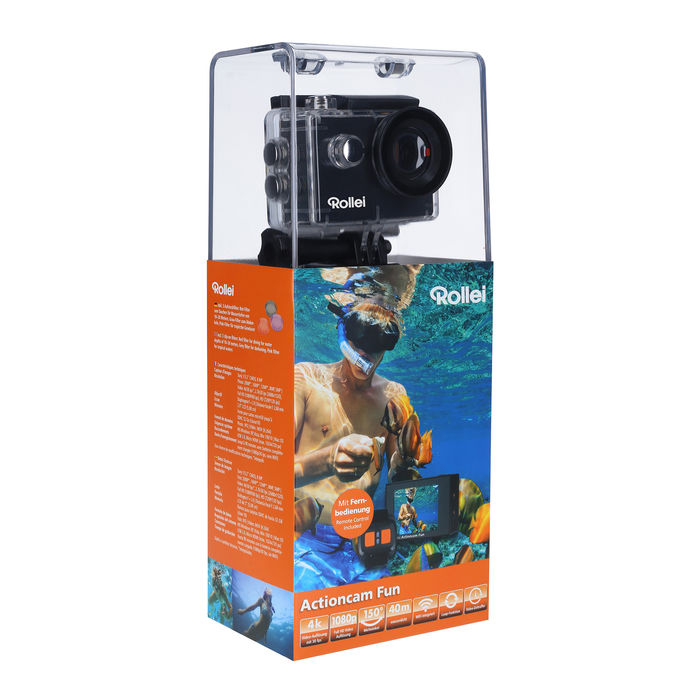REPORTER ACTIONCAM FUN 4K - thumb - MediaWorld.it