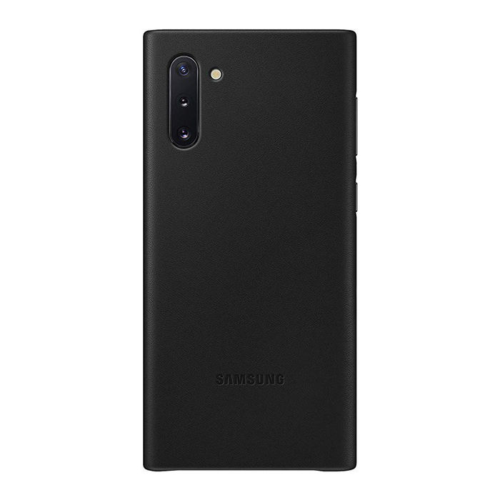 SAMSUNG Leather Cover Black Galaxy Note10 - thumb - MediaWorld.it