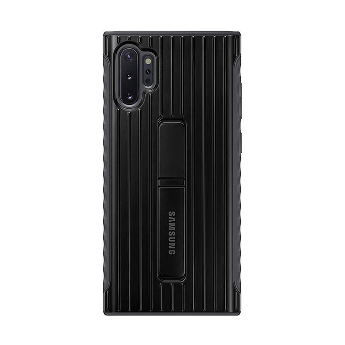 SAMSUNG Protective Standing Cover Black Galaxy Note10+ - thumb - MediaWorld.it