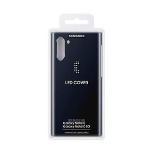 SAMSUNG LED Cover Galaxy Note10 Black - thumb - MediaWorld.it