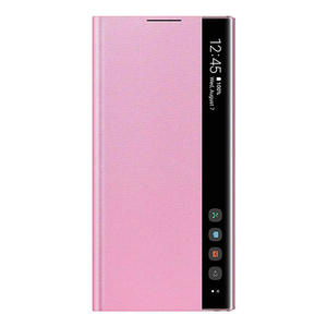 SAMSUNG Clear View Cover Galaxy Note10 Pink - MediaWorld.it
