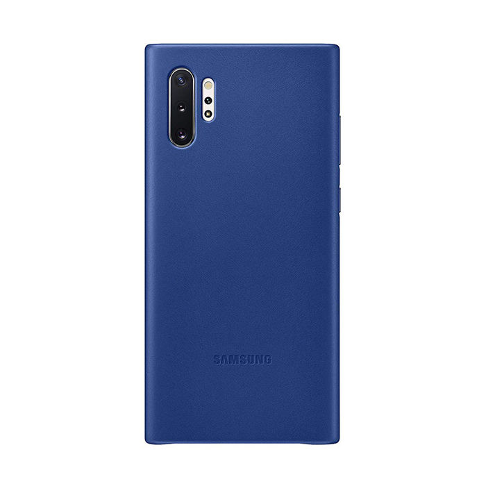 SAMSUNG Cover Pelle Galaxy Note10+ Blu - thumb - MediaWorld.it