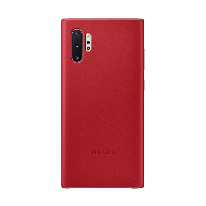SAMSUNG Cover Pelle Galaxy Note10+ Red - thumb - MediaWorld.it