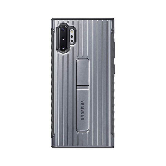 SAMSUNG Protective Standing Cover Note 10+ Silver - thumb - MediaWorld.it
